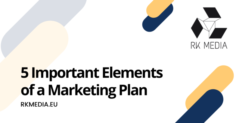 important elements of a marketing plan